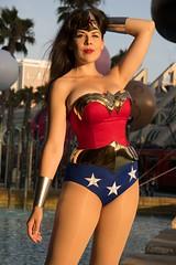 San Diego Comic-Con 2017 (austinspace) Tags: woman portrait cosplay comiccon sdcc2017 san diego california model sunset dusk magichour childrenspark wonder dc comics