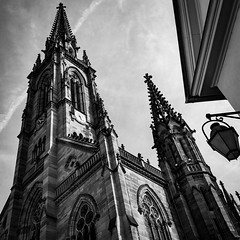 Mulhouse #3 (Gaetan682) Tags: place monument love mulhouse city ville like favoris iphone7 iphone 7 iphoneography lightroom photos mac macbookpro13 2017 nb bw noiretblanc blackandwhite architecture alsace france light lumière passion tradition charme ancien apple