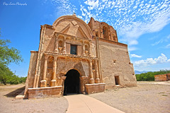 Tumacácori National Monument (Paige Larissa Photography) Tags: nature landscape desert arizona roadtrip photography like comment follow deserts dirt monument monuments building church jesus god catholic old historic history wide wideangle architecture