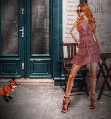shine by [ZD] RAQUEL DRESS  for Tres Chic July (Cecilia Blachere) Tags: shine by zd raquel dress 2017 sumemr new exclusive attitude nose for fashion tres chic venue july