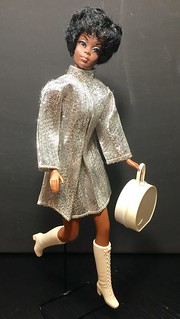 Julia doll in Silver Clone dress