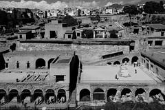 Ercolano (Jeanluke83) Tags: ercolano scavi ruins napoli campania landscape monocromo white black bianco nero nikon d750