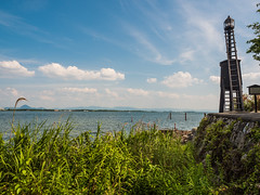 P7150635 (yuyugreen) Tags: 滋賀 大津市 大津 滋賀県 琵琶湖 lake japan freshwater 灯台 lighthouse