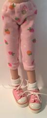Strawberry Pink Leggings...For Blythe...