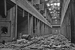 industrial building RZ01 #33 (jourbexia) Tags: italy italian europe european building buildings rural ruralexploration exploration interior inside decay decayed decaying derelict dereliction abandoned disused empty urbex urbanexploration ux urban architecture blackandwhite blackwhite bw black white grey gray greyscale grayscale mono monotone industry industrial factory factories