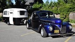 1939 Dodge coupe (Custom_Cab) Tags: 1939 dodge coupe car street rod custom hot black flames boler travel trailer camper camping