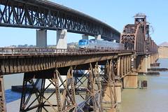(CaliforniaRailfan101 Photography) Tags: amtrak amtrakcalifornia amtk cdtx unionpacific up capitolcorridor sanjoaquin californiazephyr local manifest intermodal coaltrain beniciamartinezbridge bridge emd ge f59phi p42dc es44ac sd70m gevo c45accte gp402 gp60 powermove ac44ccte ac4400cw gp382