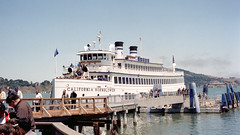 "1998-07 Boat ""California Hornblower"" (beranekp) Tags: usa california sausalito san francisco boat schiff"