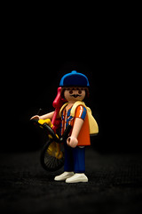 hipster (Lavawolf) Tags: playmobil fixie fixed toy doll