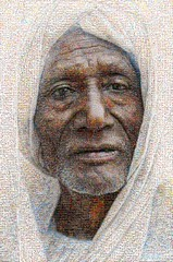 Wallace Mosaico (by zurera) Tags: digital hd art collage retratos portraid zurera people fotomontaje image autoretratos mosaic