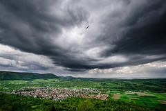 Segelflieger (karo.perez73) Tags: teck glider owen germany alb storm thunderstorm