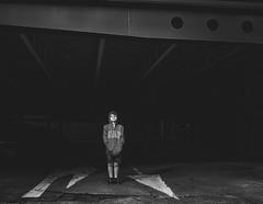 The edge of darkness (scottlittle.nz) Tags: film pentax67 epsonv700 summer newzealand auckland hp5
