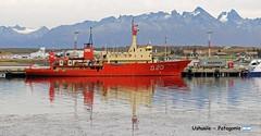 Ushuaia Harbor (YellowSingle 单黄) Tags: patagonia harbor argentina ushuaia beagle canal antarctica boat mountain nikon