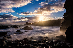 Coastal Easter Island (Dwood Photography) Tags: coastal easter island coastaleasterisland dwoodphotography dwoodphotographycom seascape sea level sealevel sunstar blue yellow wave waves chile 2017