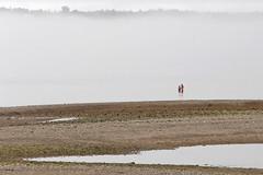 Sisters (cheryl.rose83) Tags: girls sisters ocean fog beach