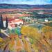 Paysage de Céret de P. Brune (musée d'art Hyacinthe Rigaud, Perpignan)