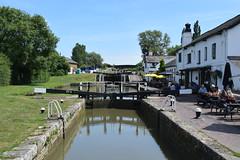 3 locks (grahamwoolnough1) Tags: 3locks canal publichouse miltonkeynes lockgates grandunioncanal