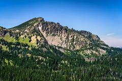 Palisades Peak (matthucke) Tags: sunrisepoint mountrainiernationalpark mountrainier washington mountain