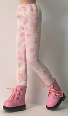 Daisy Pink Tights...For Blythe...