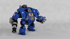 Primaris Redemptor Dreadnought (Garry_rocks) Tags: lego mecha warhammer 40k spacemarine ultramarine dreadnought primaris redemptor