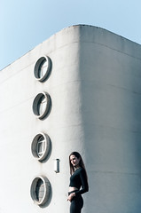 (awaylastdays) Tags: kodak portra kodakportra madewithkodak shotonfilm pentax pentaxmesuper girl beautiful beaty building architecture minimal minimalism sun summer filmphotography ua outdoor sky cherkassy cherkasy ukraine