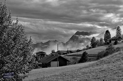 Heavy Weather (Rene'D.) Tags: heavy weather mountain mountains hills alpen alps bw bnw monochrome monochrom schwarzweiss schwarzweis tirol tyrol