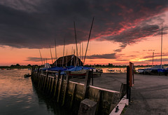 The Boathouse (Sunset Snapper) Tags: theboathouse sunset bosham westsussex southcoast quay boats clouds highlights filter lee nd grad nikon d810 2470mm july 2017 sunsetsnapper