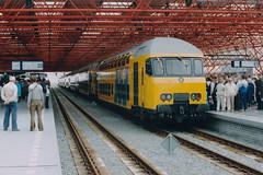 DDM (lex_081) Tags: 11g03 19870529 19870530 station hanzelijn ddm opening flevolijn centrum centraal cs amsterdam almere ns