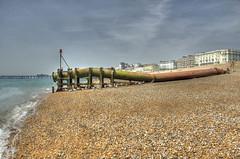 _MG_3581_2_3_Painterly (rvogt0505) Tags: england hastings beach sea ocean