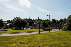 Bo'ness & Kinneil Railway - Town Hall & Craigmailen Church Spire View (Le Monde1) Tags: boness kinneil lemonde1 nikon d800e museum heritage uk bonesskinneilrailway museumofscottishrailways townhall craigmailen church spire scotland steam railway