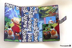 Angry birds 2 (helarraga) Tags: angrybirds personalizedwallet ecowallet paperwallet laminated wallet billetera monedero accessory recycledpaper paper collage