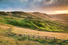 Illuminating (evorichie101) Tags: mam tor nikon landscape sunset golden hour peaks peak district hills clouds storm zeiss 21mm