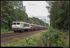 CT 1621 + 1619 - 46268 (Spoorpunt.nl) Tags: 23 juli 2017 captrain raillogix 1621 1619 psa autotrein trein 46268 soestduinen