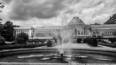 Le Botanique BXL (YᗩSᗰIᘉᗴ HᗴᘉS +6 500 000 thx❀) Tags: botanique brussels bruxelles monochrome blackandwhite water fontaine fontain hensyasmine 7dwf
