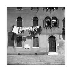 facade • venice, italy • 2016 (lem's) Tags: minolat autocord minolta venezia venice venise italy italia italie murano facade ligne laundry house maison