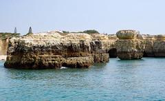 Algarve Portugal. (S.K.1963) Tags: elements algarve portugal sea sky rocks cave olympus omd em5 12 40mm pro