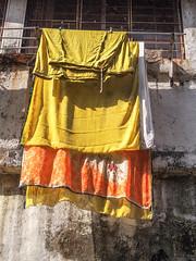 Mumbai 2015 (hunbille) Tags: birgittemumbai1lr india mumbai ghat steps walkeshwar temple complex walkeshwartemple malabarhill malabar hill bangangatank banganga tank lake laundry bombay