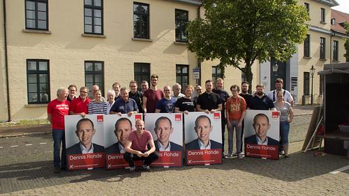 In einer gemeinsamen Aktion haben wir in Oldenburg die Hauptverkehrsstraßen plakatiert.