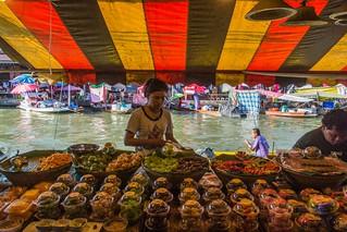 marché flottant amphawa - thailande 50