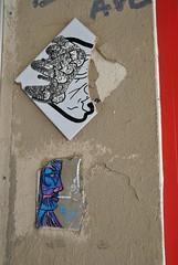 DSC_0224 (emilyD98) Tags: street art insolite paris urban exploration rue mur wall city ville mosaique mosaic collage mouffetard 75005 5ème5 ème installation