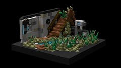 'Reclaimed' Apoc Vignette MOC #1 (arannir) Tags: lego moc apoc apocalypse the last of us