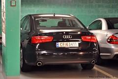Audi A6 - Norway, Romerike (Helvetics_VS) Tags: licenseplate norway romerike akershus