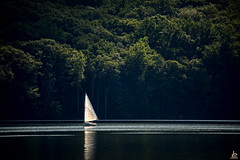Lazing on a Sunday Afternoon (Jersey JJ) Tags: lazingonasundayafternoon monksville reservoir passaic county nj new jersey sail boat j2 tamron d750