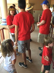 """Waiting in Line for Midway Mania at Disney's California Adventure • <a style=""""font-size:0.8em;"""" href=""""http://www.flickr.com/photos/109120354@N07/35596667270/"""" target=""""_blank"""">View on Flickr</a>"""