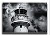 The Lantern Room (Fermat48) Tags: lighthouse perchrock newbrighton lanternroom liverpool fortperchrock groynes sand sea gallery canon eos camera 7dmarkii sky clouds weathervane blackandwhite monochrome