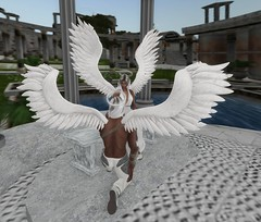 Linden Lab Starters: Angels (Asia Ristow) Tags: lindenlab secondlife starter base system new newbie avatars angel angels imageessentials romance