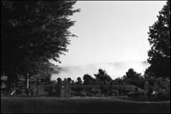 Old basque cemetery in Sare (Romain Massola) Tags: paysbasque paisvasco euskalherria euskadi cimetiere cemetery graveyard sare sara leica m6 canon 50mm canon50mmf14ltm ilford hp5 bw nb blackandwhite noiretblanc bwfp epson v700 epsonv700 rodinal