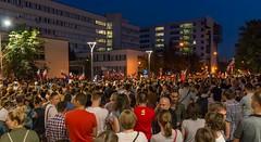 IMGP7222 (TomaszMazon) Tags: protest democracy krakow poland court anti government crowd