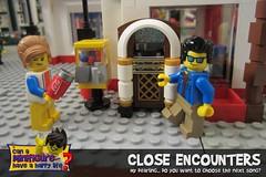 Close Encounters (EVWEB) Tags: lego minifigures happy life humorfun jukebox music song