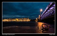 Palace Bridge St Petersburg 2107 (dragan heiden photography) Tags: palace bridge st petersburg dragan night